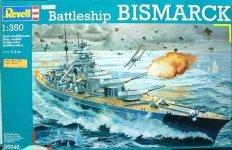 Revell 05040 Battleship Bismarck (1:350)
