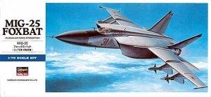 Hasegawa D4 MiG-25 Foxbat (1:72)
