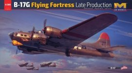 HK Models 01E030 B-17 Flying Fortress G New Edition 1/32