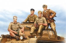 Hobby Boss 84409 German Tropical Panzer Crew 1/35
