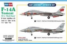 Hobby Boss 80279 F-14A Tomcat VF-1 Wolf Pack 1/72