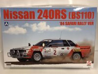 Beemax 24014 Nissan 240RS (BS110) '84 SAFARI RALLY VERSION (1:24)