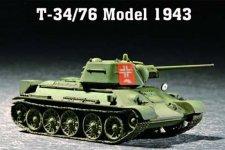 Trumpeter 07208 T-34/76 Model 1943 (1:72)
