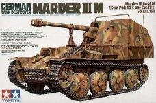 Tamiya 35255 German Tank Destroyer Marder III M (1:35)