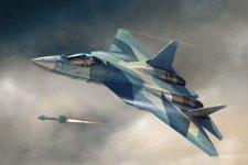Hobby Boss 87257 Russian T-50 PAK-FA (1:72)