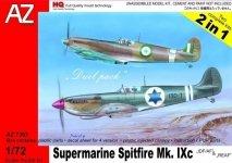 AZ Model AZ7393 Supermarine Spitfire Mk. IXc IDF/AF  REAF (1:72)