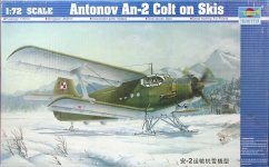 Trumpeter 01607 Antonov An-2 Colt on Skis (1:72)