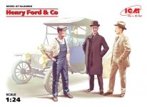 ICM 24003 Henry Ford&Co (3 figures)