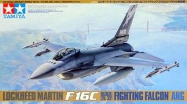 Tamiya 61101 F-16C Block 25/32 Fighting Falcon (1:48)