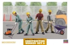 Hasegawa WM03 Construction Worker Set A 1/35