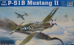Trumpeter 02274 P-51 B Mustang (1:32)