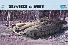 Trumpeter 07220 Strv103 c MBT (1:72)
