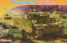 Dragon 7323 Pz.Kpfw.III Ausf.M w/Schurzen (1:72)