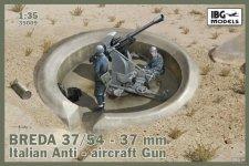 IBG 35009 Breda 37/54 anti-aircraft gun (1:35)