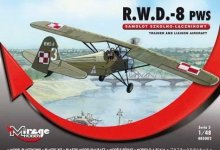 Mirage Hobby 485002 R.W.D.-8 (PWS), Trainer and liaison aircraft (1:48)