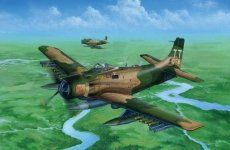 Trumpeter 02254 A-1J AD-7 Skyraider (1:32)