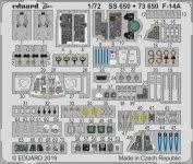 Eduard 73650 F-14A 1/72 FINE MOLDS