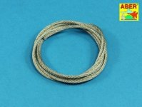 Aber TCS 25 Stainless Steel Towing Cables fi 2,5mm, 125 cm long