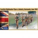 Gecko Models 35GM0006 Scottish Highlander Piper & Infantrie 1/35