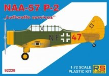 RS Models 92228 NAA-57 P-2 Luftwaffe services 1:72