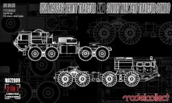 Modelcollect MA72009 USA M983A2 HEMTT tractor and Soviet MAZ 7410 tractor combo 1/72