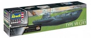 Revell 05163 German Submarine Type VII C/41 (1/72)