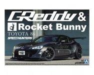 Aoshima 05094 ZN6 TOYOTA 86 12 GREDDY/ROCKET BUNNY 1/24