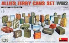 MiniArt 35587 ALLIES JERRY CANS SET WWII 1/35