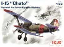 ICM 72061 I-15 Chato, Spanish Air Force Fighter-Biplane (1:72)