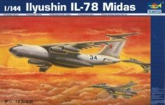 Trumpeter 03902 Soviet transport plane Ilyushin IL-76 Midas 1/144