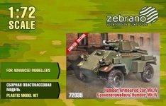 Zebrano 72035 Daimler Armored Car Mk.IV 1/72