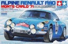Tamiya 24278 Alpine Renault A110 Monte-Carlo '71 (1:24)