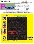 P-Mask PK32014 HEINKEL HE219 A-7 UHU (REVELL) (1:32)