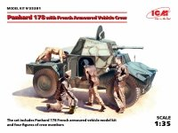 ICM 35381 Panhard 178 with French Armoured Vehicle Crew (1:35)