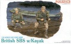 Dragon 3023 British SBS w.Kayak (1:35)