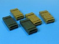 Eureka XXL E-002 Zestaw 5-ciu skrzynek amunicyjnych 1:35