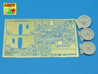 Aber 35096 PaK38 niemiecka armata p/panc 5cm. (DRA) (1:35)