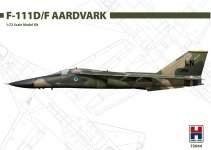 Hobby 2000 72044 General Dynamics F-111D/F Aardvark 1/72
