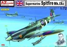 AZ Model AZ7391 Supermarine Spitfire Mk.IXc ,,Aces'' (1:72)