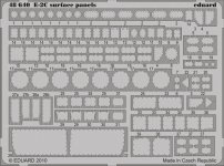 Eduard 48640 E-2C surface panels KINETIC (1:48)