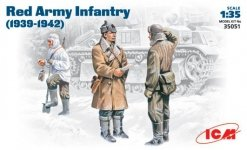 ICM 35051 Red Army Infantry 1938-1942 (1:35)