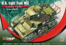 Mirage Hobby 726072 Luzon 1942 M3 Light Tank (1:72)