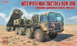 Modelcollect UA72096 NATO M1014 MAN Tractor & BGM-109G Ground Launched Cruise Missile (1:72)