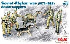 ICM 35031 Soviet Afgan War Sappers (1:35)