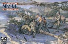 AFV Club 35182 Howitzer 105mm M2A1 & Carriage M2A2 (WW II) (1:35)