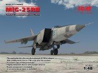 ICM 48902 MiG-25 RB, Soviet Reconnaissance Plane (1:48)