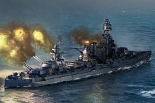 Trumpeter 06712 USS Texas BB-35 (1:700)
