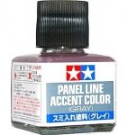 Tamiya 87133 Panel Line Accent Color 40ml. (Grey)