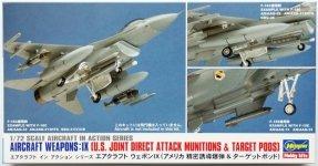 Hasegawa X72-14 US Aircraft weapons IX (1:72)