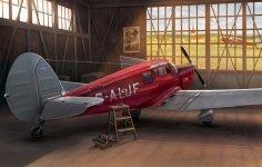 Dora Wings 48016 Percival Proctor Mk.III civil registration 1/48